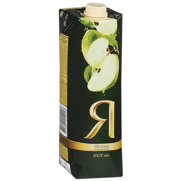 """Сок """"Я"""". Яблочный (0,97л.)"""